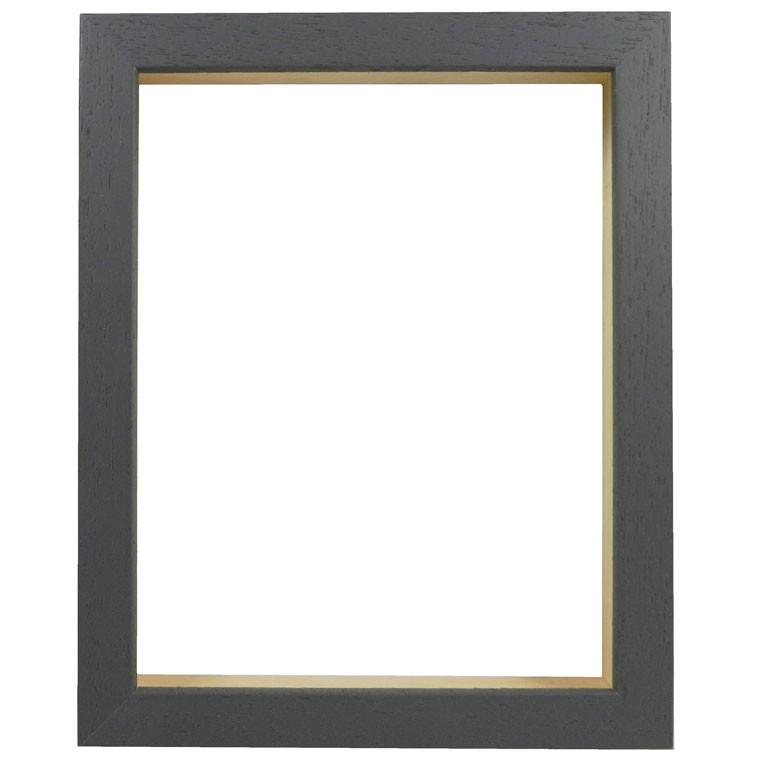 Picture Frame - Open Grain Dark Grey