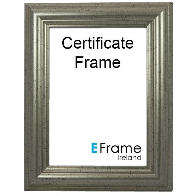Certificate Frame A4 Silver