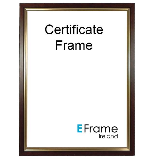 Certificate Frames A4 Eframe Ireland