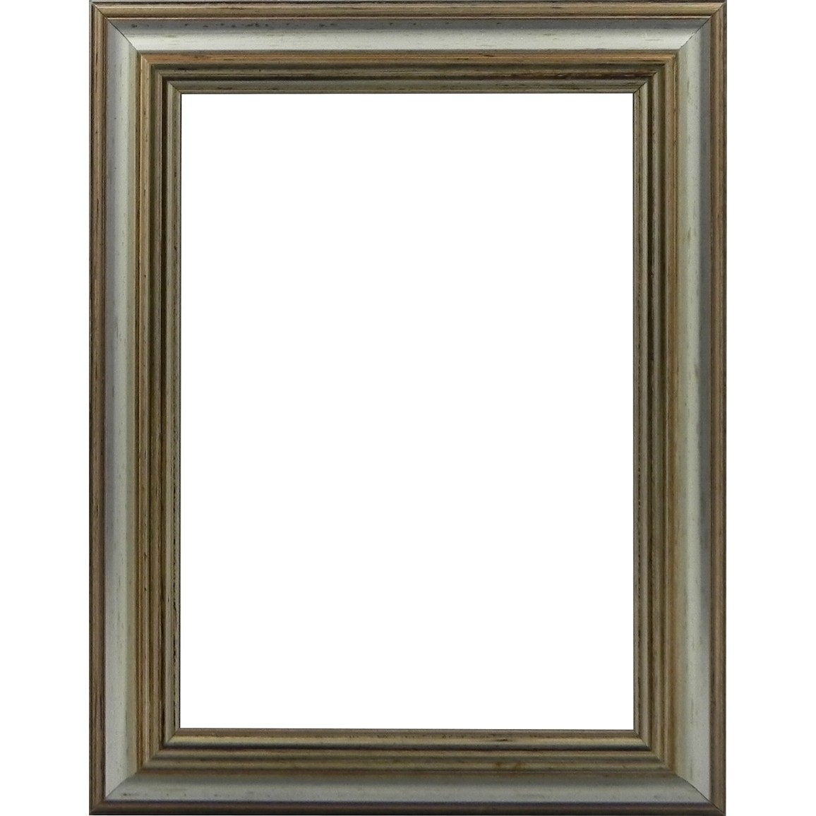 Picture Frame Reverse Silver Slim