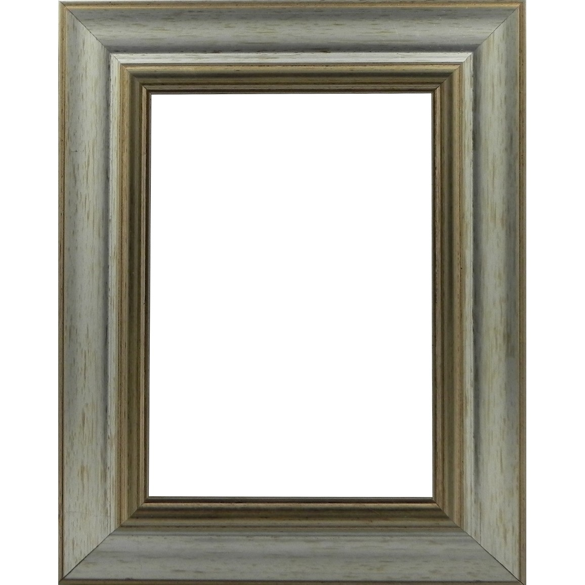 Picture Frame Reverse Silver Wide