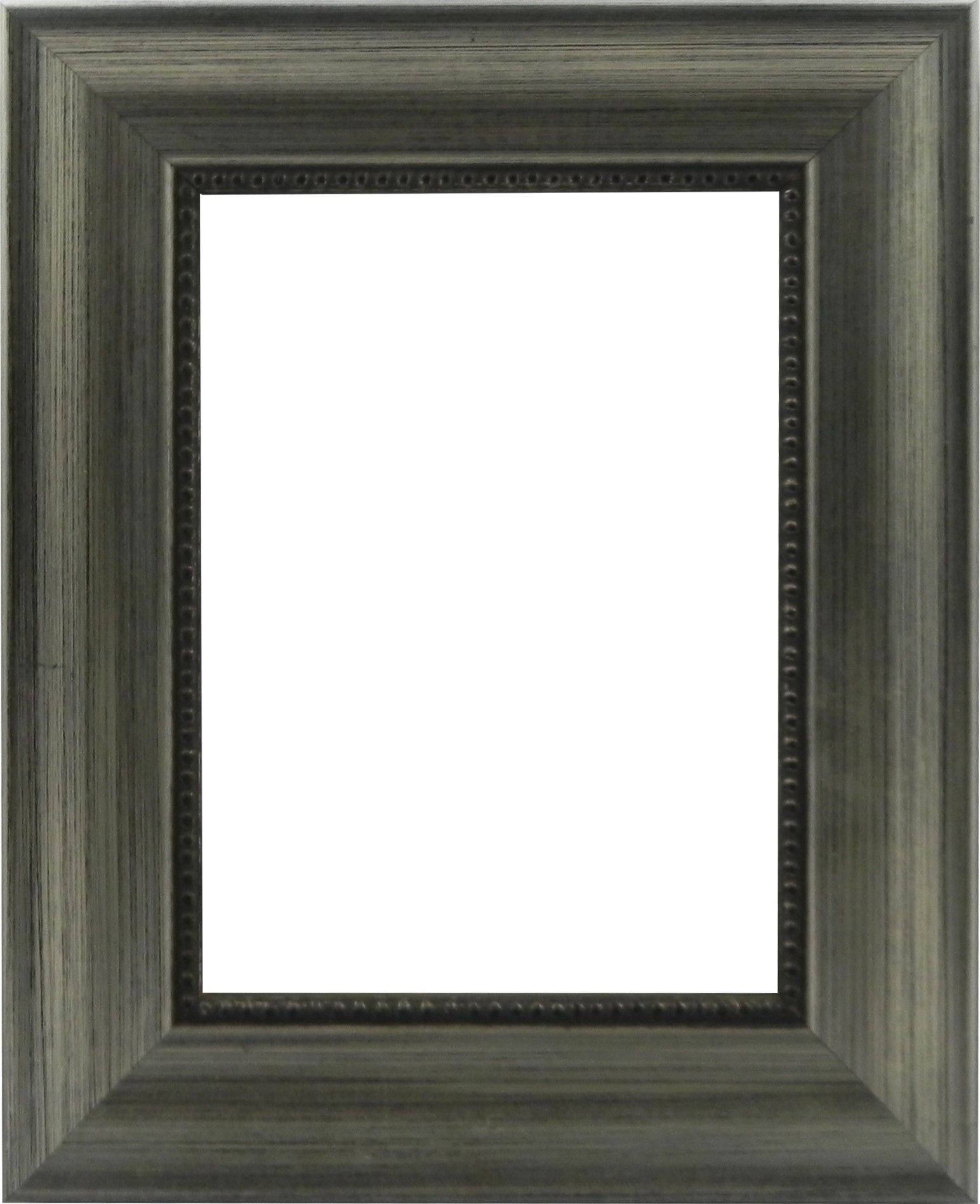 Picture Frame Beaded Edge Silver