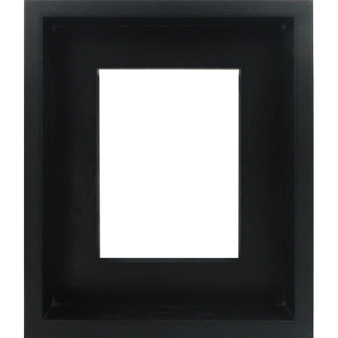 Inset L Shape Black