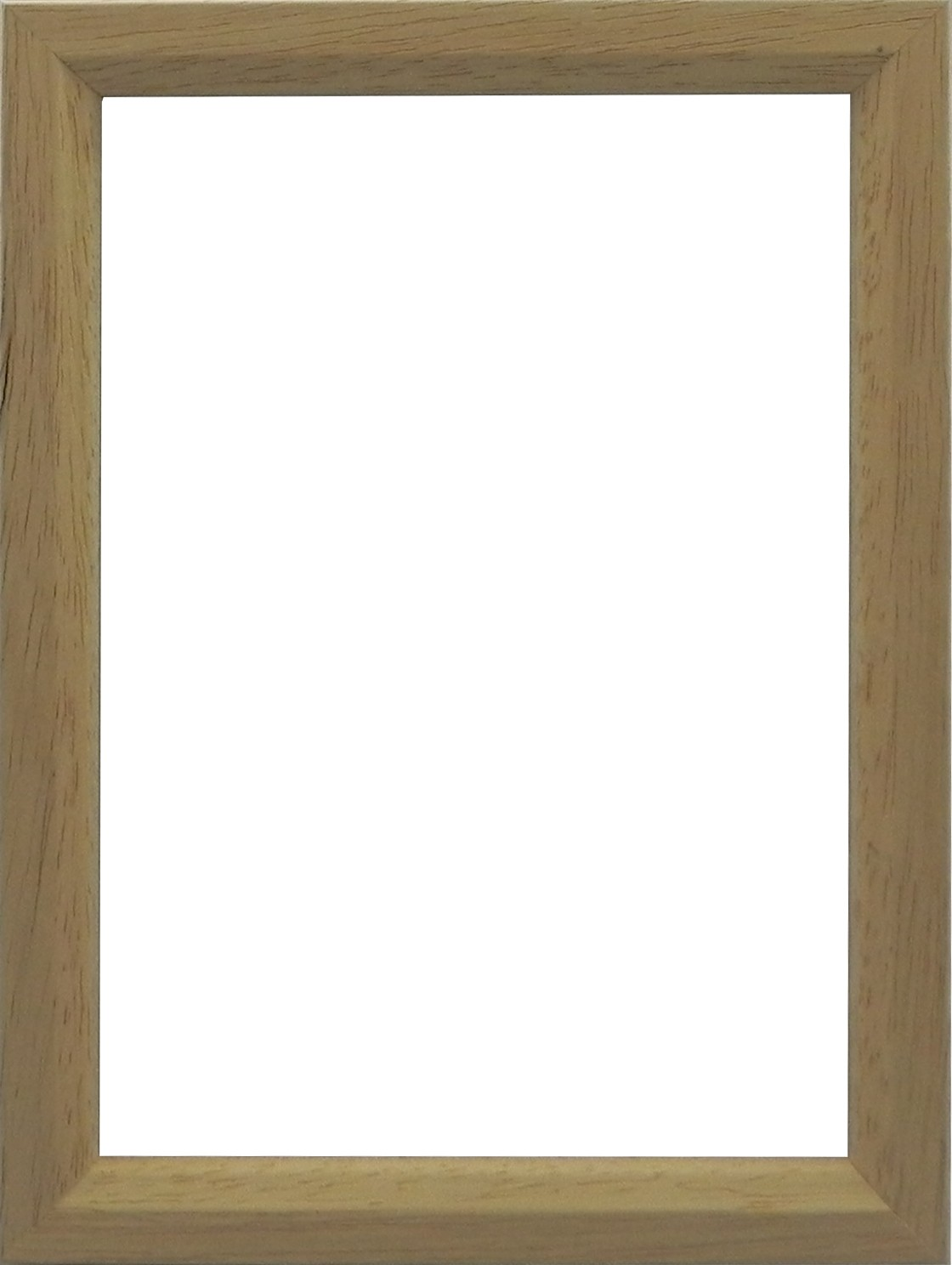 Picture Frame Slim Natural with chamfer