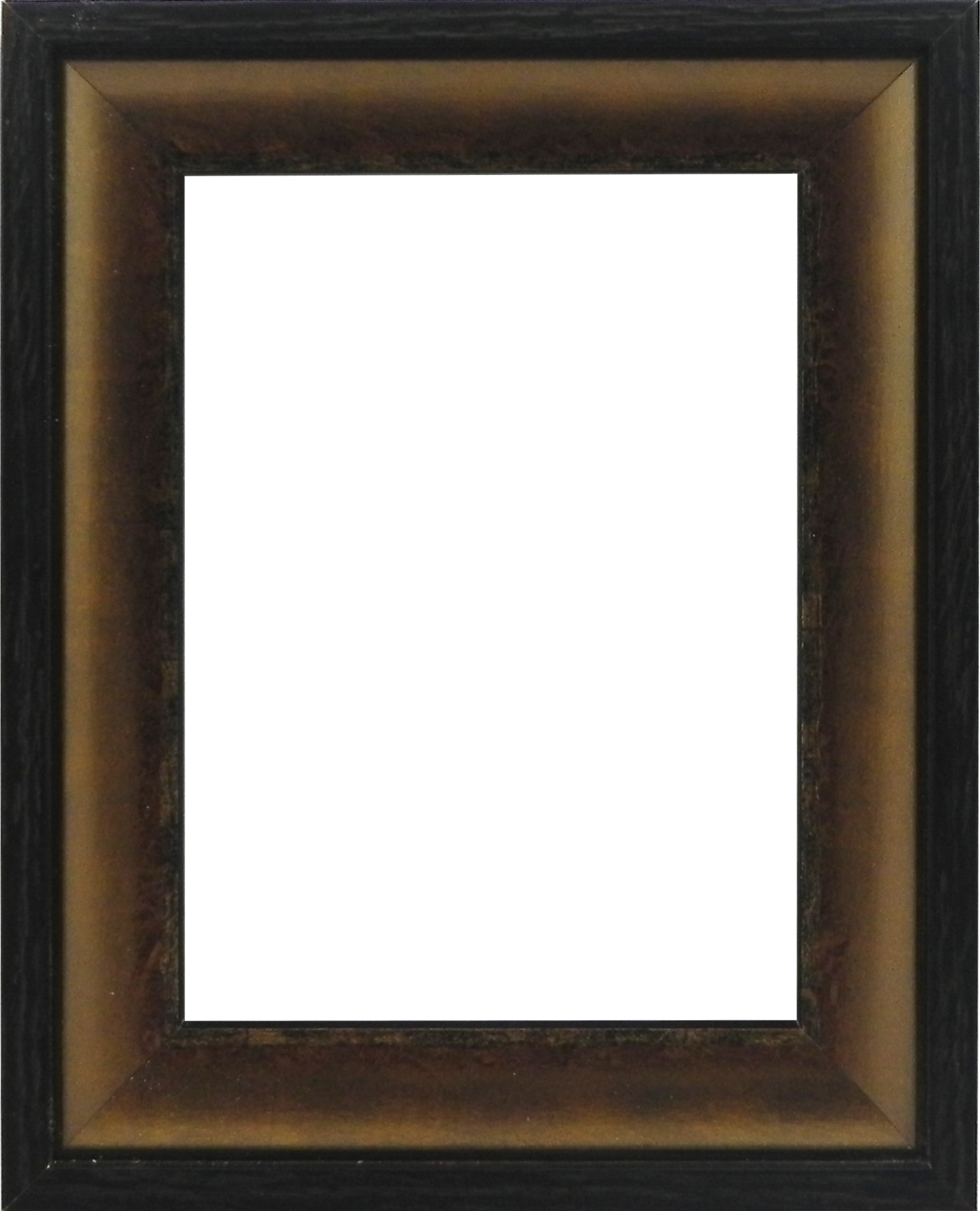Picture Frame - Contemporary Brown Black