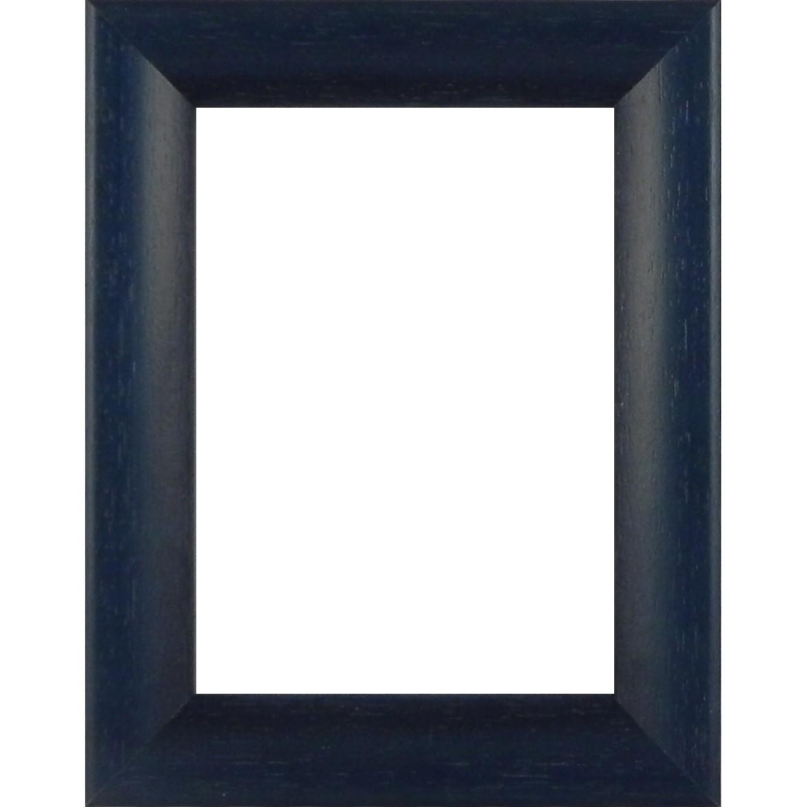Picture Frame Bevel Washed Blue