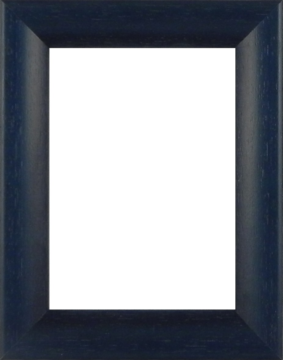 Picture Frame Bevel Washed Blue