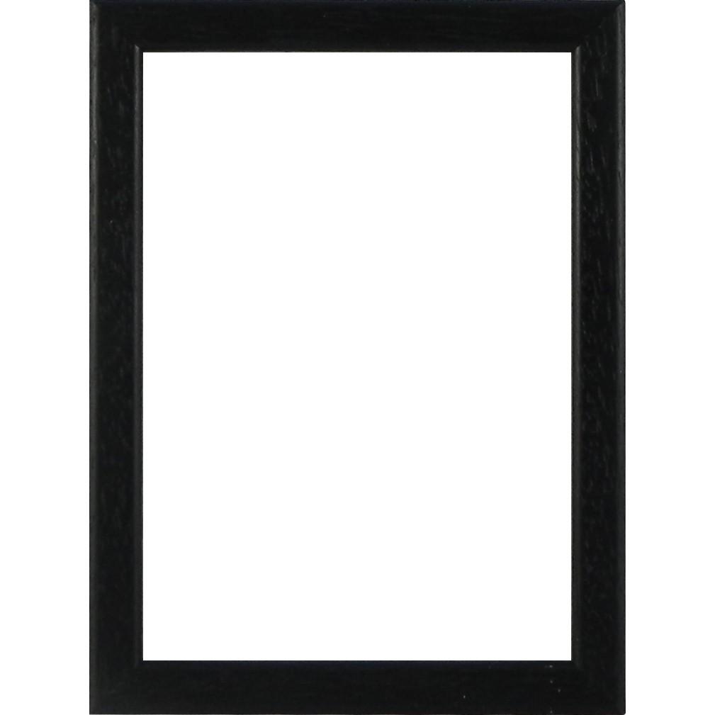 Picture Frame Flat Black Slim