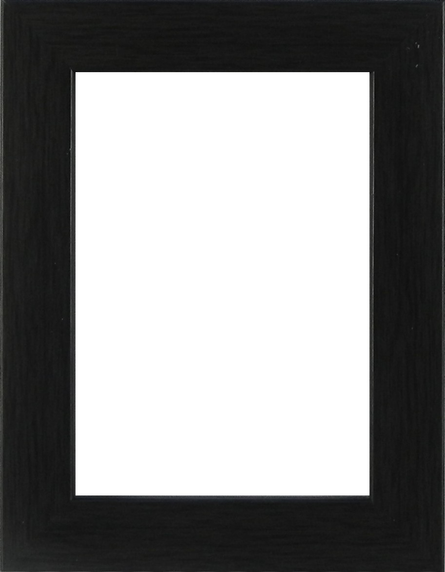 Picture Frame Flat Charcoal Medium