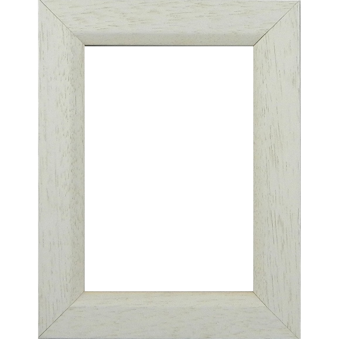 Picture Frame White Lime with chamfer medium