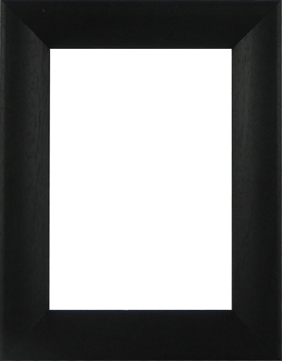 Picture Frame Bevel Washed Black