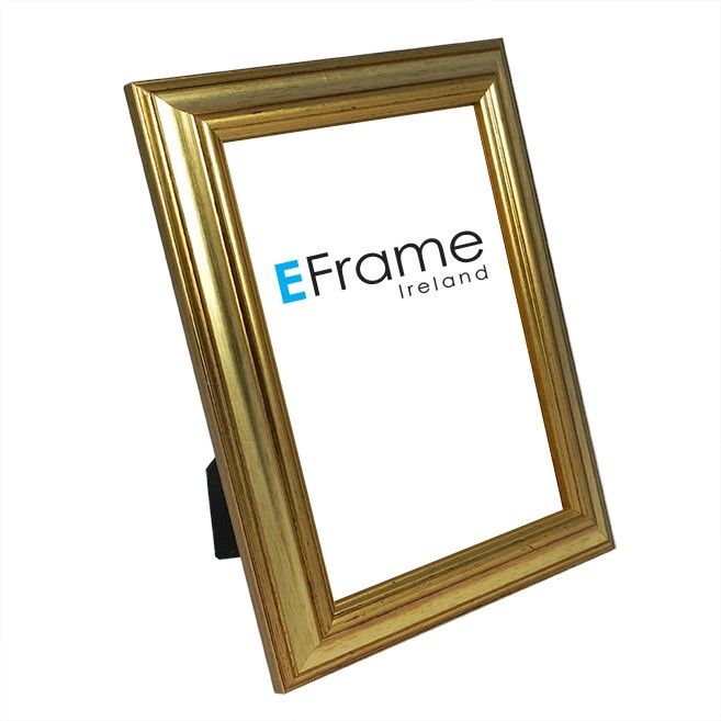 Photo Frame Reverse Gold