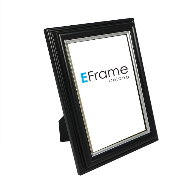 Photo Frame - Black Sliver Line