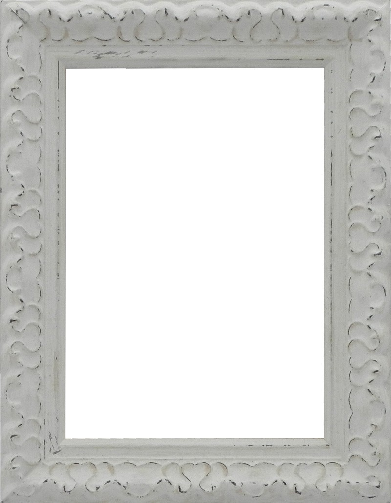 Picture Frame Ornate Ivory