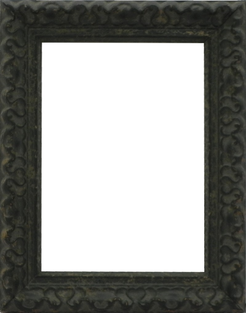 Picture Frame Ornate Green