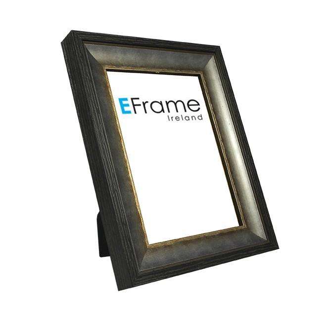 Photo Frame Black Silver