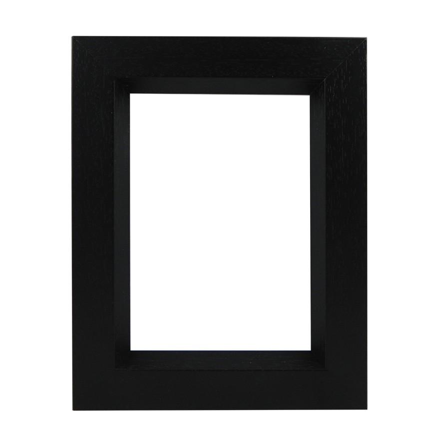 Picture Frame - Open Grain Black