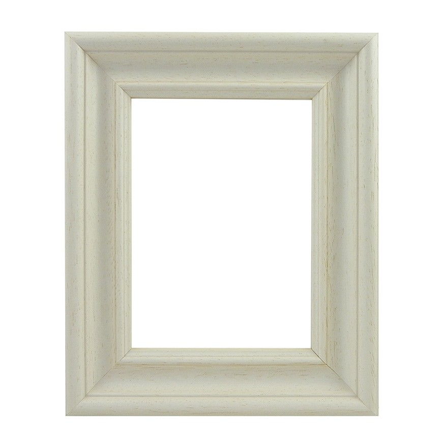 Picture Frame - Scoop Limed White