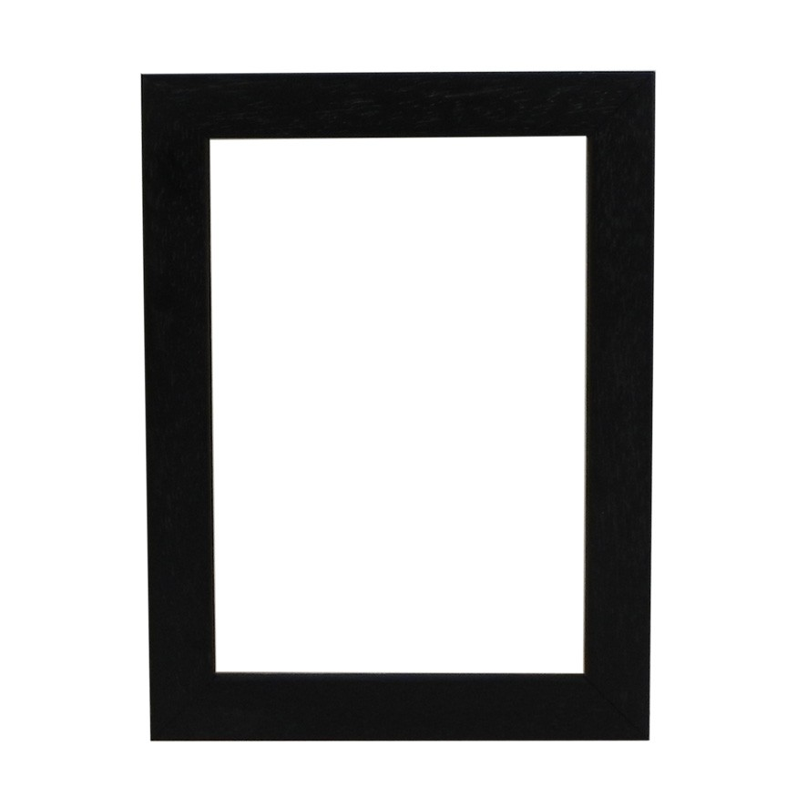 Picture Frame - Open Grain Black Box 21