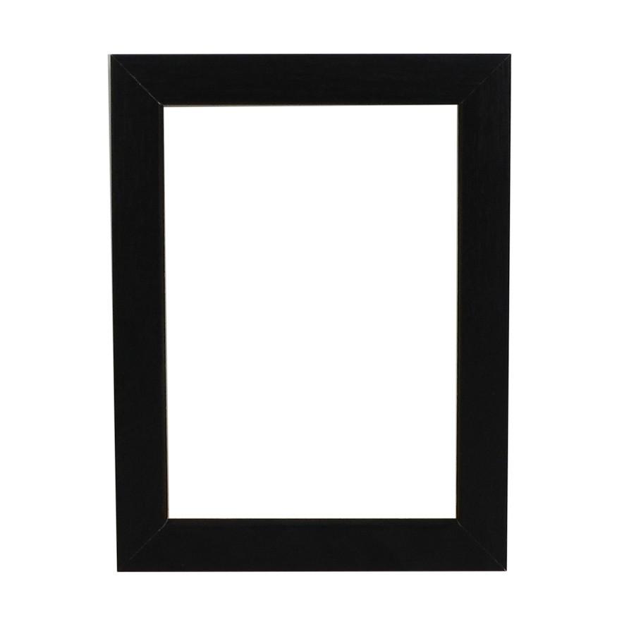 Picture Frame - Open Grain Black Box 32