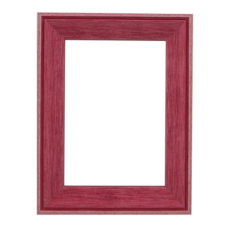 Santorini Red Whitewash Picture Frame