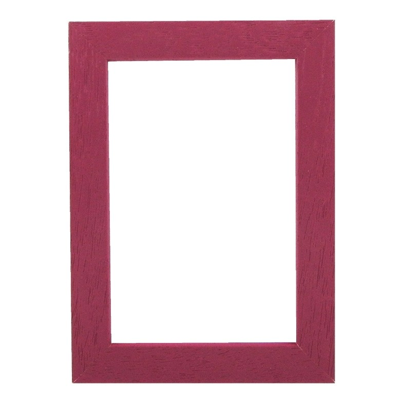 Picture Frame - Metro 20 Red