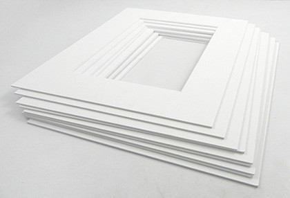 White Core Mount Frame 20 X 16 Photo 10 X 8 Pack Of 10