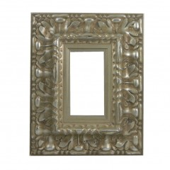 Picture Frame Reverse Ornate Silver