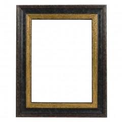 Picture Frame Woodland Black - Gold