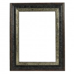 Picture Frame Woodland Black - Silver