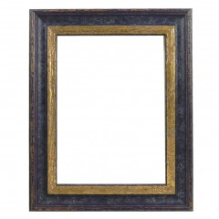 Picture Frame Woodland Blue - Gold