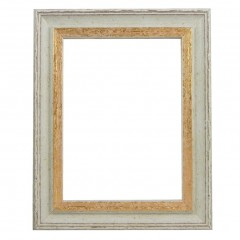Picture Frame Woodland Cream - Gold