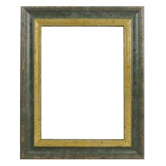 Picture Frame Woodland Green - Gold
