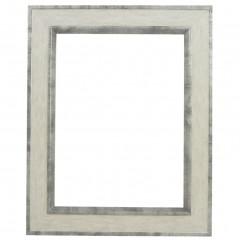 Picture Frame Portobello Bianco - White Gun Metal