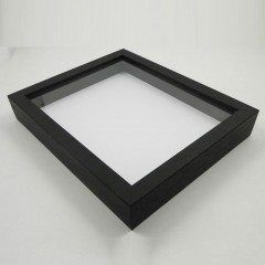 Picture Frame Box Frame 20 x 45mm Black