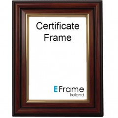 Picture Frame Certificate Frame A4 Brown