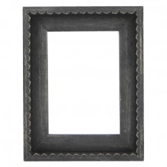 Picture Frame Chic Black Frill