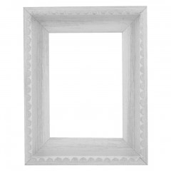 Picture Frame Chic White Frill