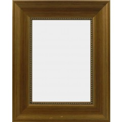 Picture Frame Beaded Edge Gold