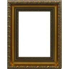 Picture Frame Antiquity Gold Leaf Slimline