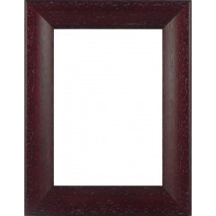 Picture Frame Bevel Washed Mahogany