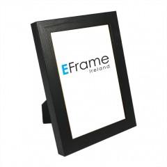 Picture Frame Black Open Grain Photo Frame