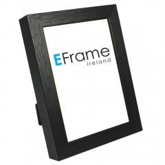 Picture Frame Black Open Grain 19mm Photo Frame