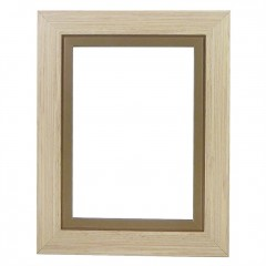 Picture Frame Pisa Buff Brown