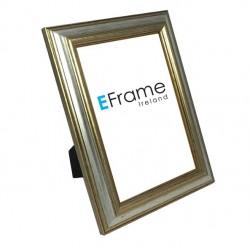 Reverse Silver Photo Frame
