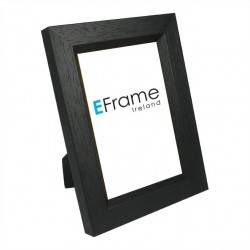 Black with chamfer Photo Frame