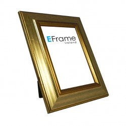 Reverse Gold Wide Photo Frame