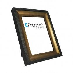 Contemporary brown/black photo frame