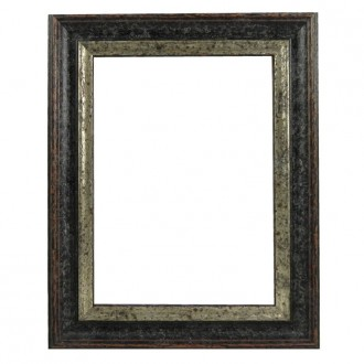 Picture Frame - Woodland Black Silver