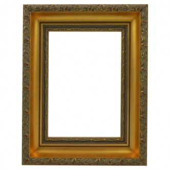 Picture Frame - Antiquity Gold Leaf Slimline